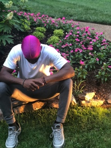 When your durag matches the flowers