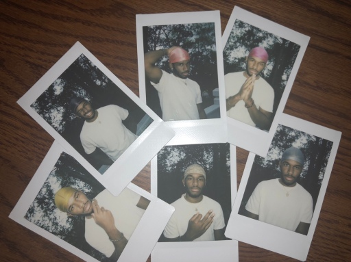 Black Boy Joy: A Rainbow of Durags Collage